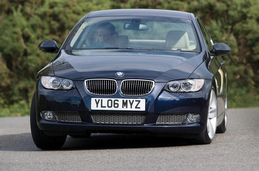 BMW 3 Series Coupé cornering