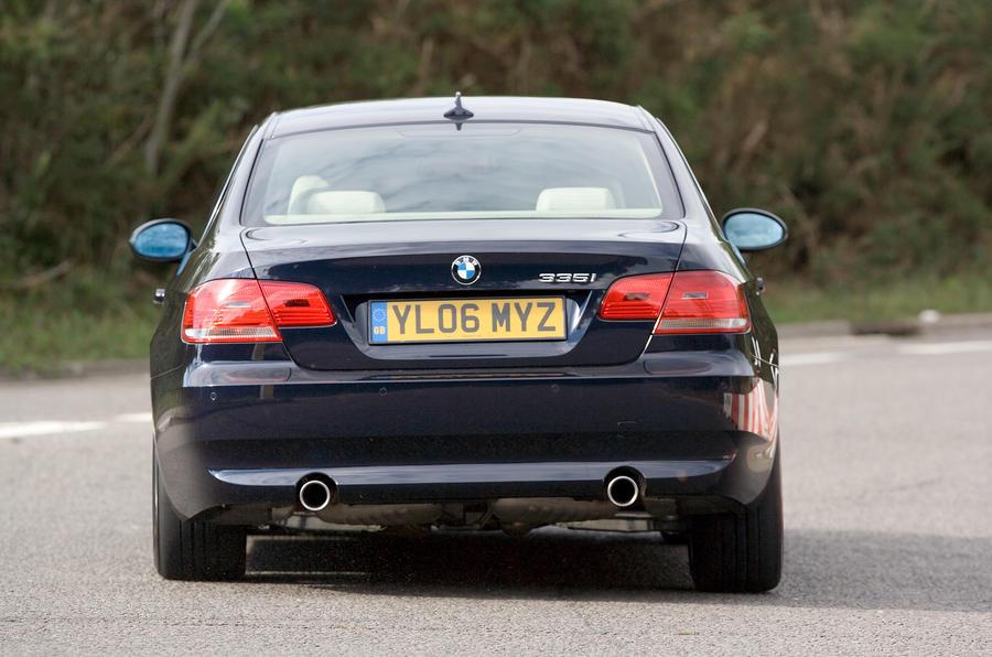 BMW 3 Series Coupé rear cornering