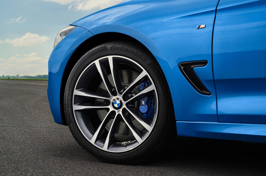 18in BMW 3 Series GT alloys