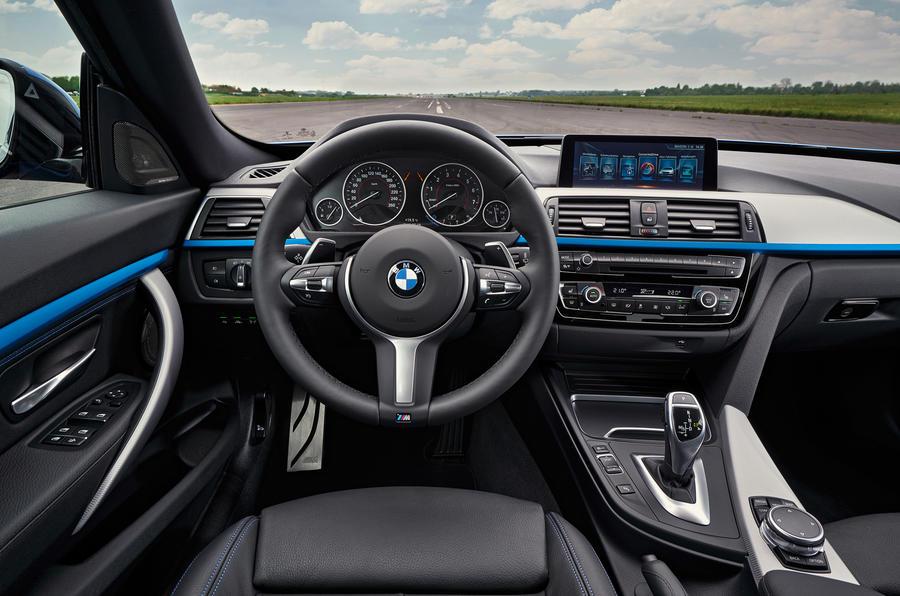 BMW 3 Series GT dashboard