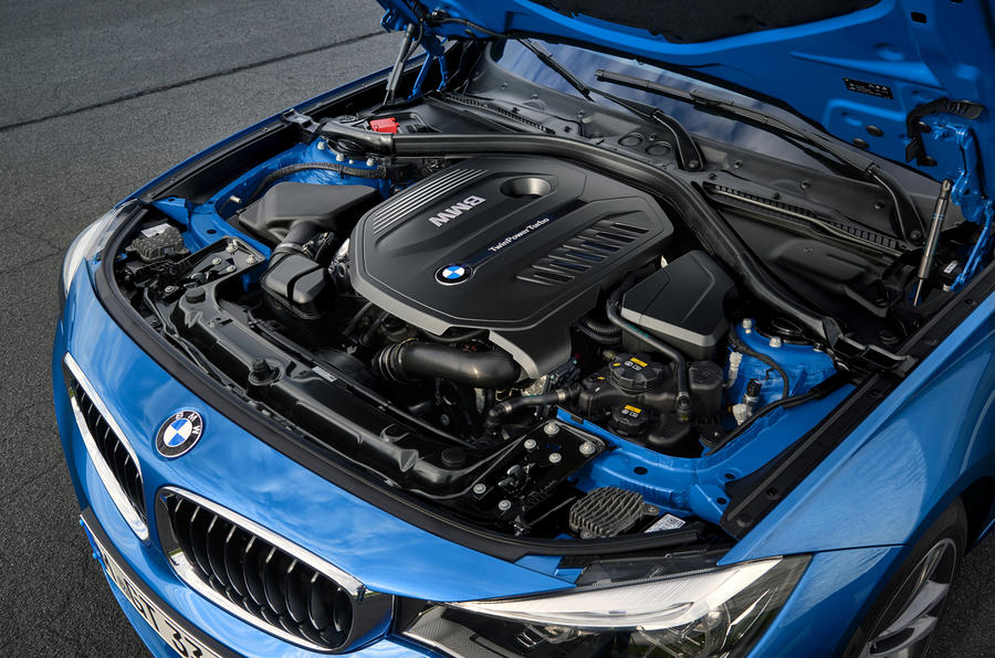 3.0-litre BMW 340i GT engine
