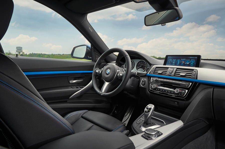 BMW 3 Series GT interior
