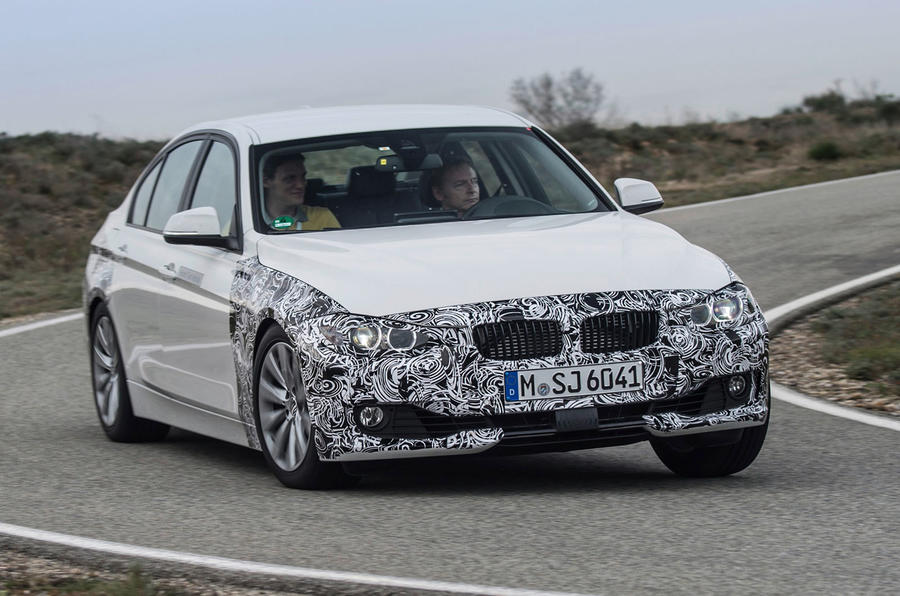 BMW 3 Series eDrive prototype