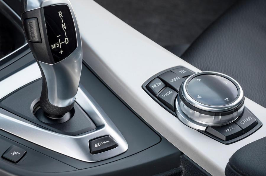 BMW 3 Series eDrive prototype auto'box