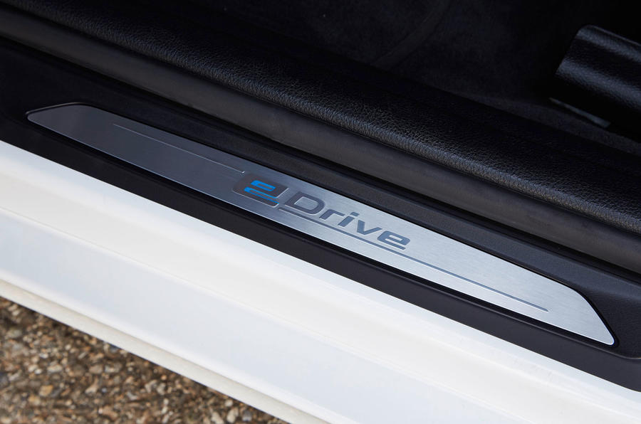BMW 3 Series eDrive prototype kickplate