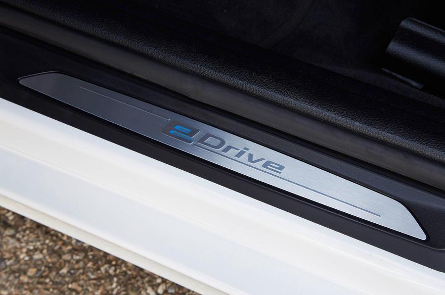 BMW 3 Series eDrive prototype kickplate