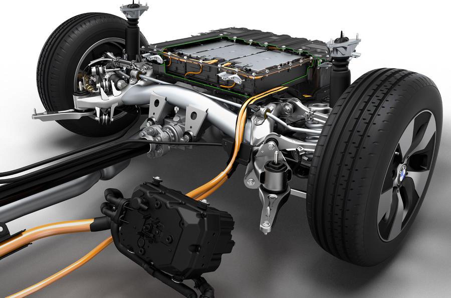 BMW 3 Series eDrive prototype electric motor