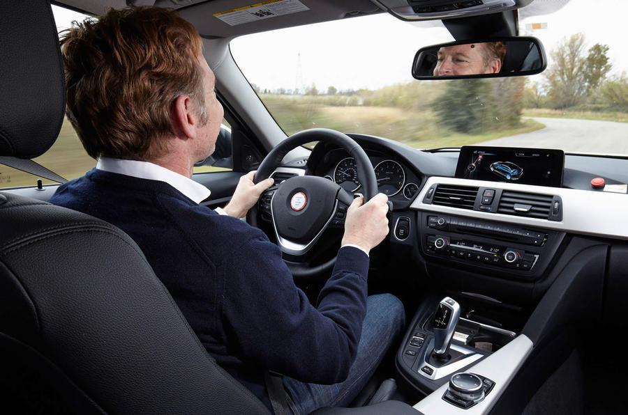 Driving the BMW 3 Series eDrive prototype