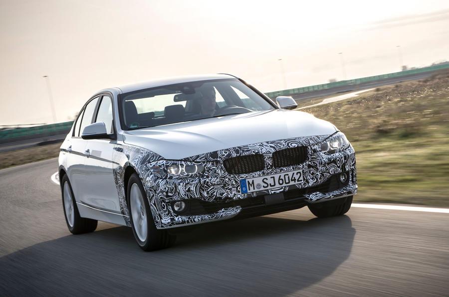 242bhp BMW 3 Series eDrive prototype