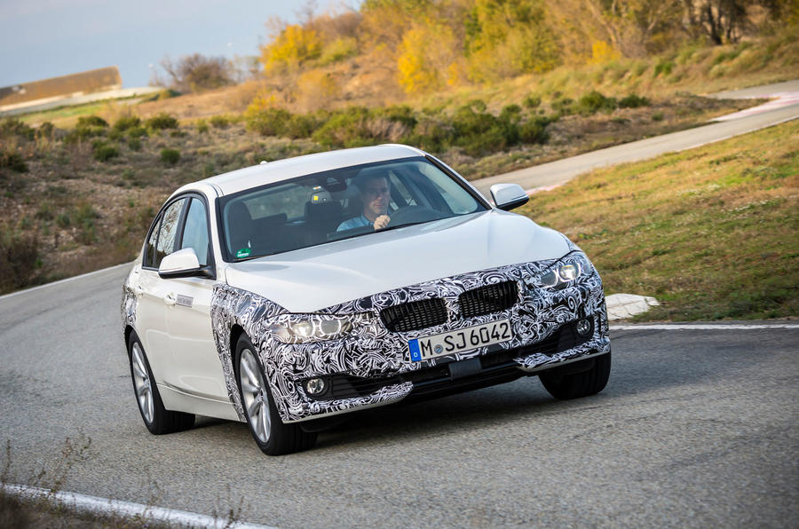 £45,000 BMW 3 Series eDrive prototype