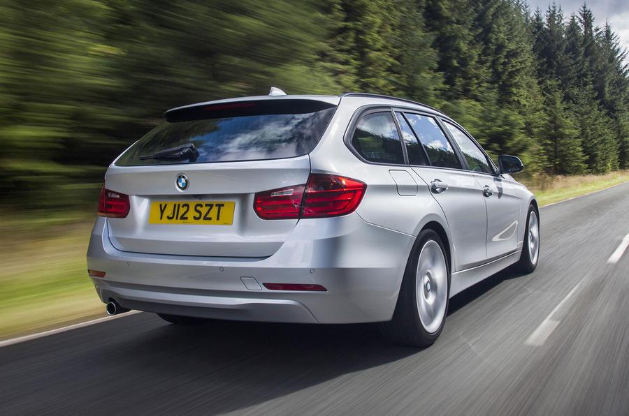 BMW 335d Touring xDrive rear