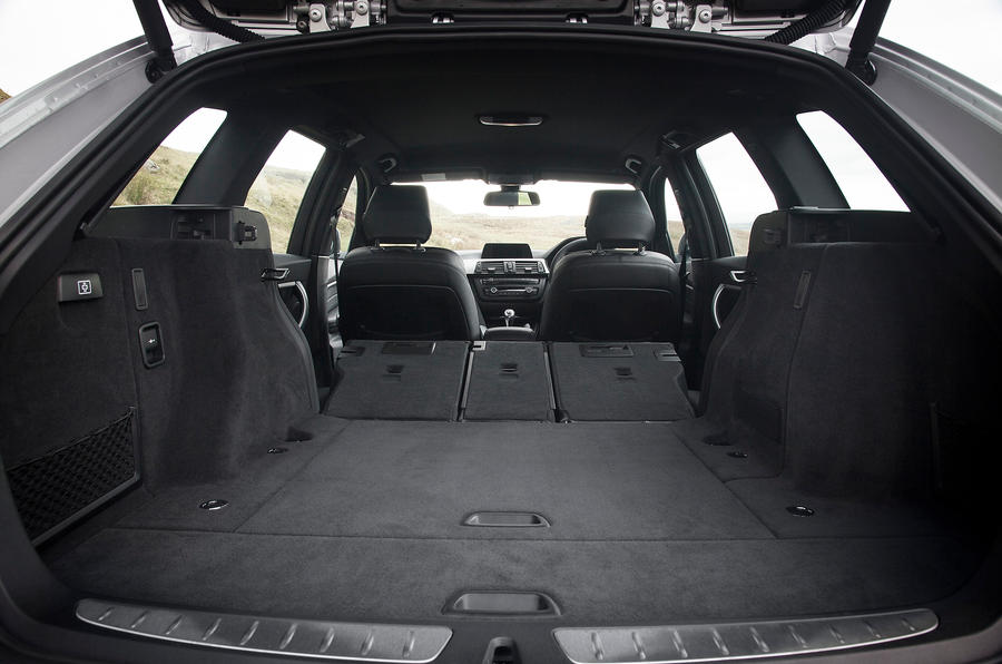 BMW 3 Series Touring boot space