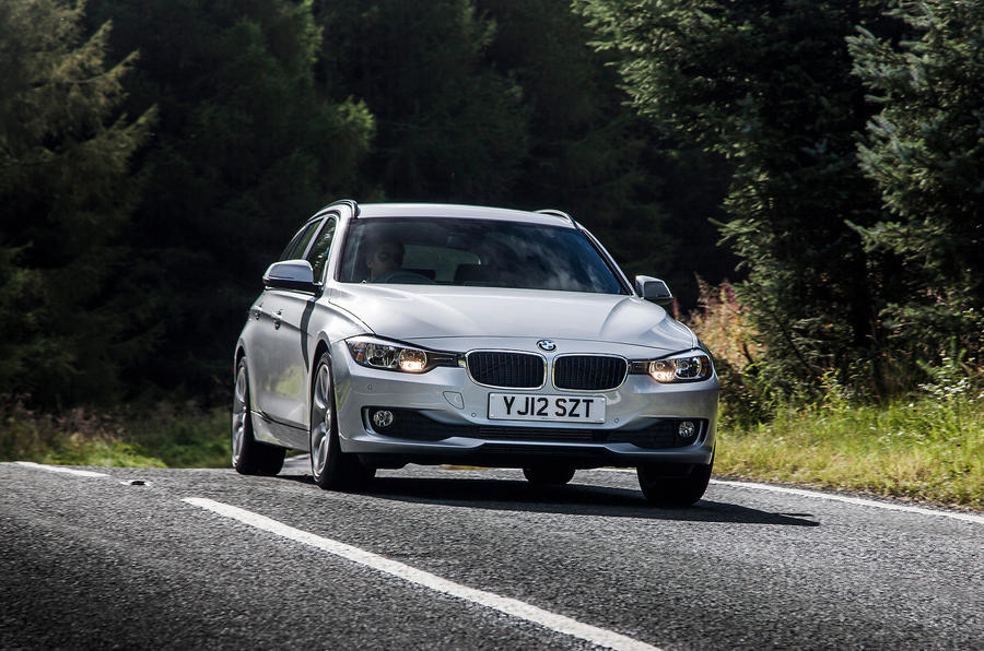 BMW 3 Series Touring front end