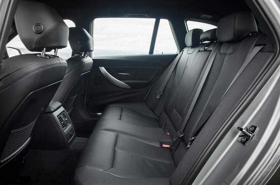 BMW 3 Series Touring rear seats