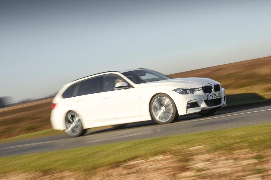 BMW 3 Series Touring cornering