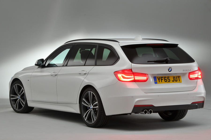 BMW 3 Series Touring rear quarter