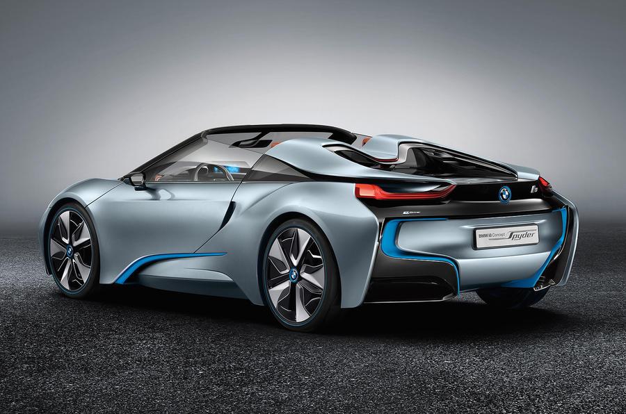 Beijing motor show: BMW i8 Spyder