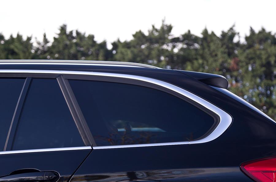 Chrome trim on BMW Luxury spec