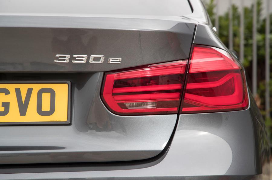 BMW 330e rear LED light