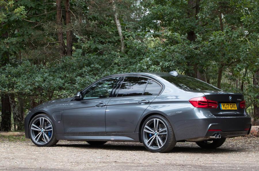 BMW 330e rear quarter