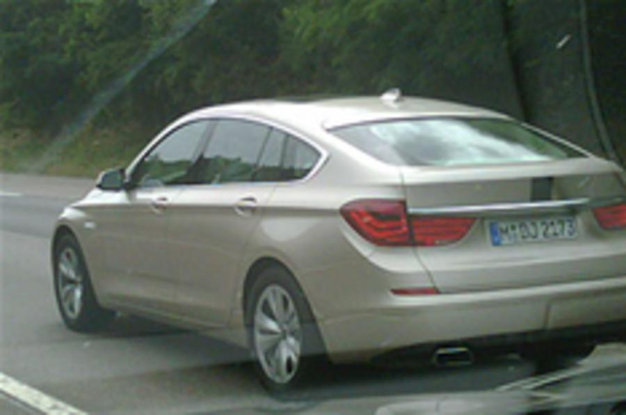 5-series GT on the road