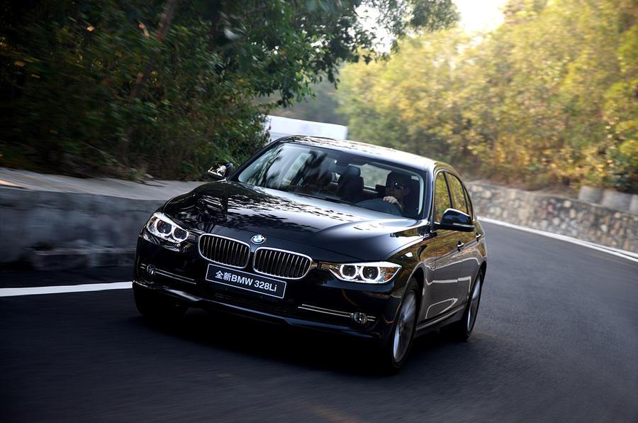 Beijing motor show: BMW 3-series LWB