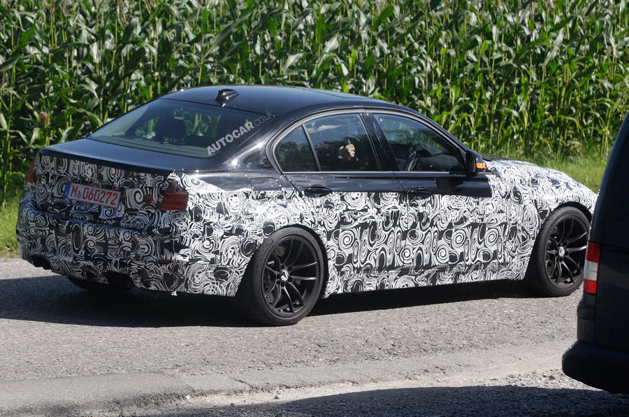 New M3 gets twin-turbo six