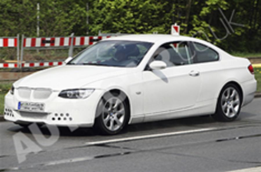 Next BMW 3-series coupe spied