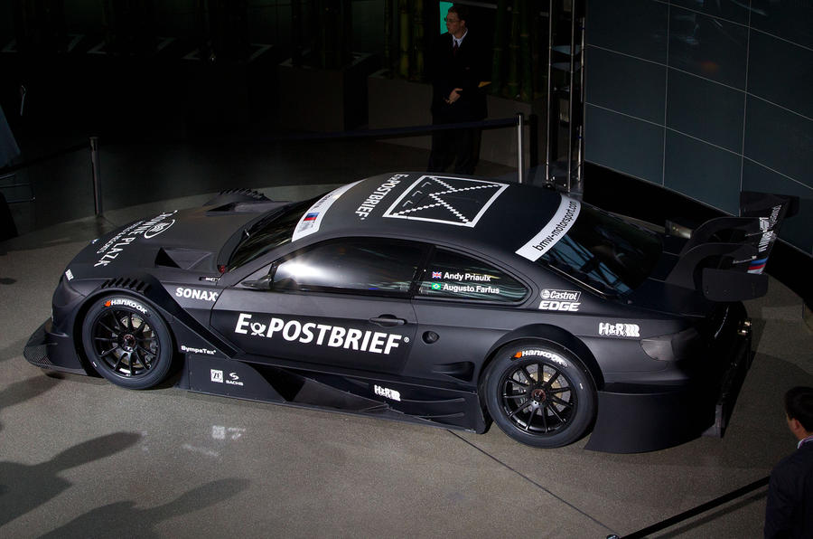 BMW DTM race concept revealed