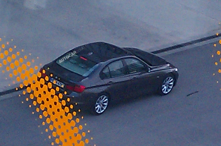 BMW 3-series – undisguised pics