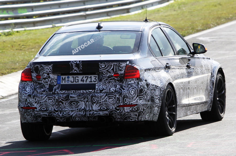 BMW M3: new spy pictures