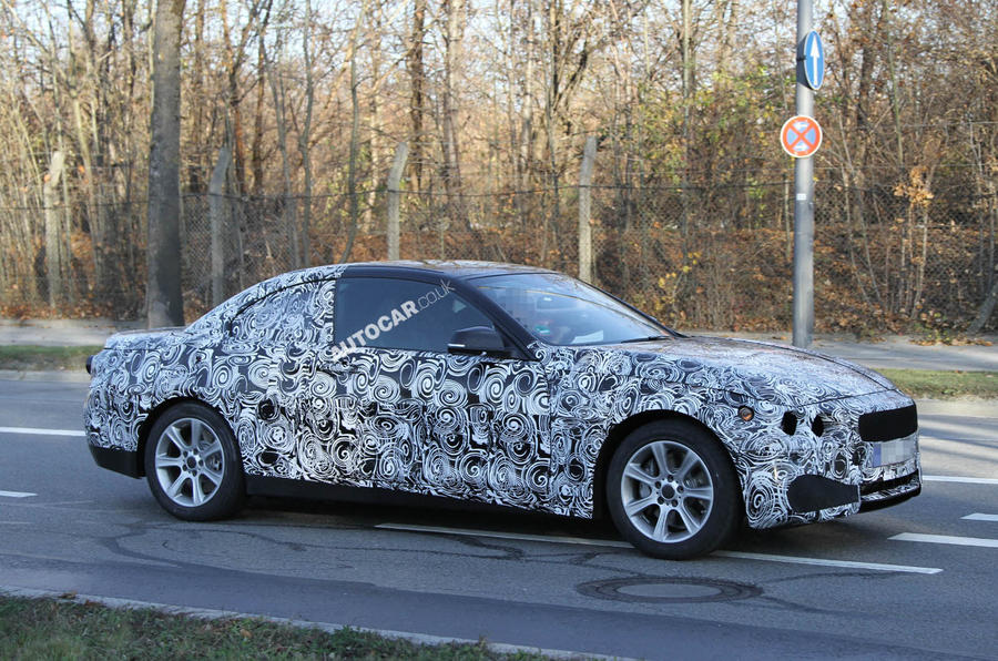 New BMW 4-series cabrio scooped