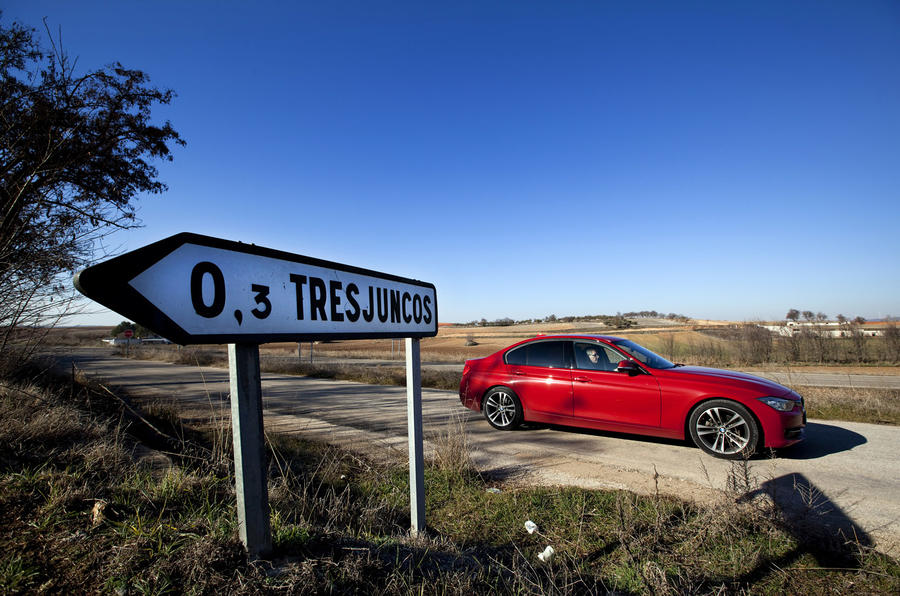 BMW 320d: three days, 1600 miles