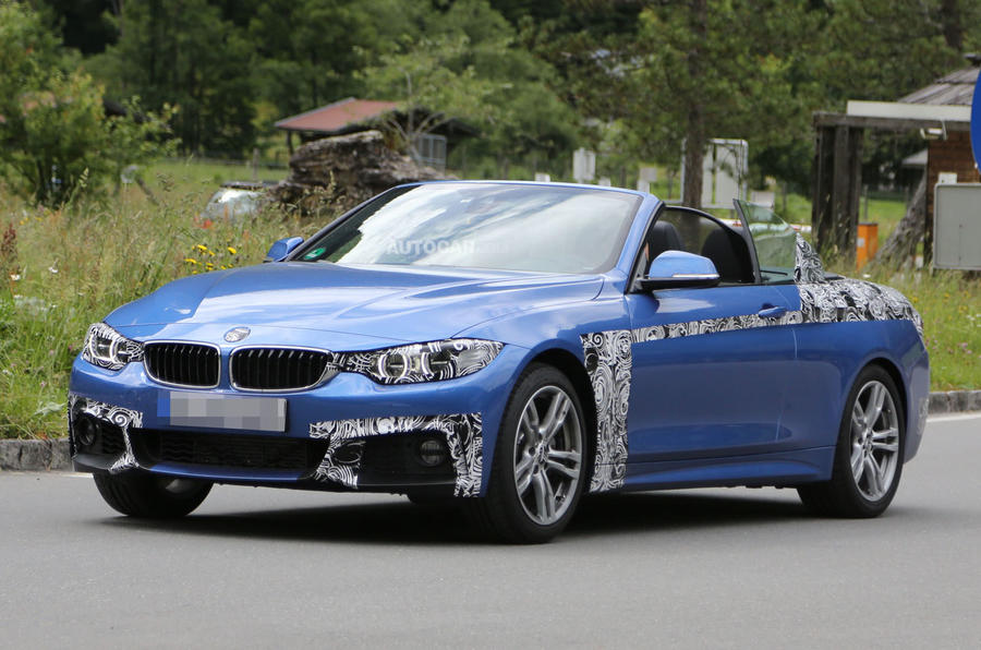 2014 BMW 4-series Cabriolet spotted