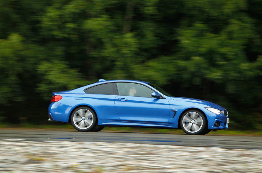 BMW 4 Series side profile