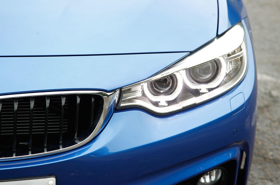 BMW 4 Series xenon lights