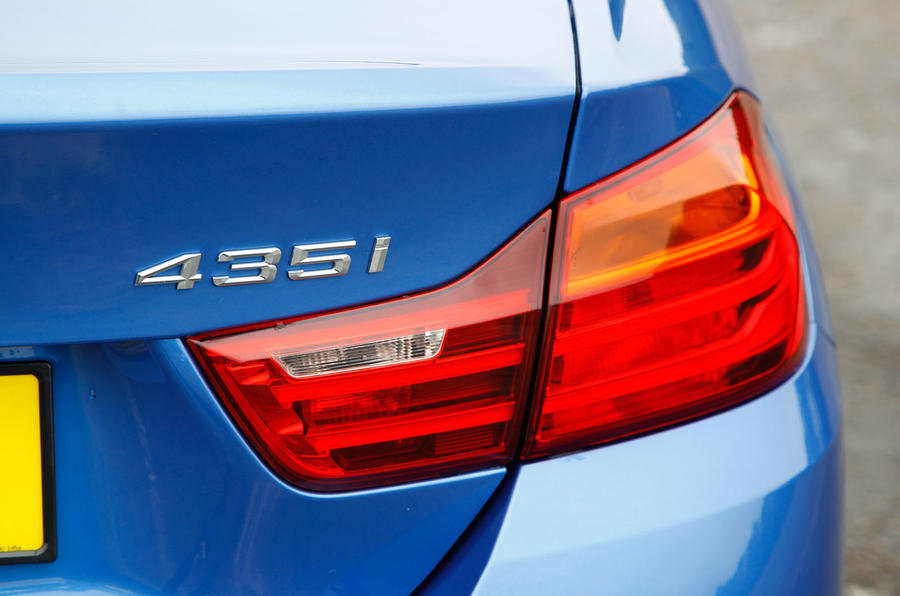 BMW 4 Series rear lights