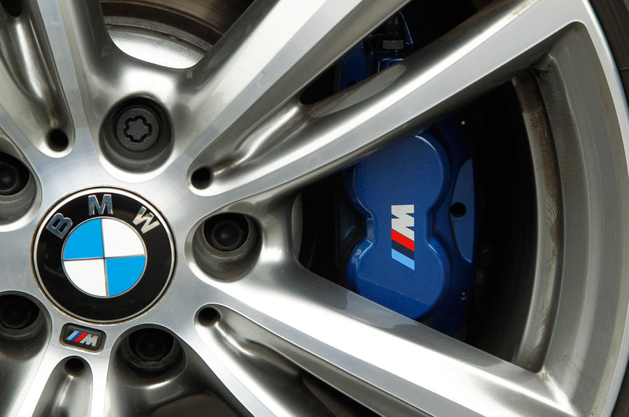 BMW M Sport brake calipers