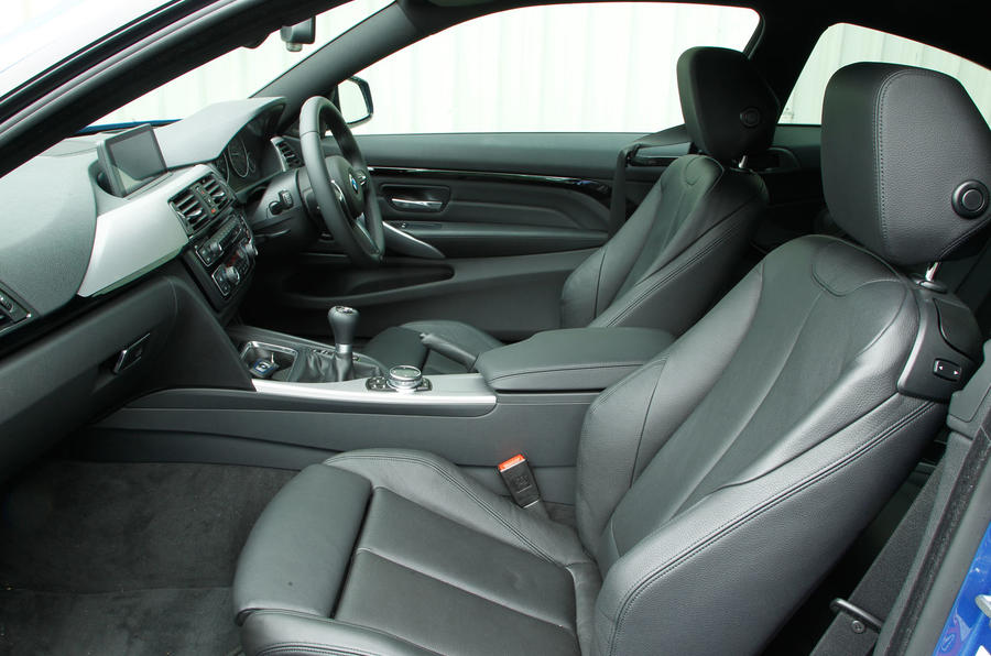 BMW 4 Series front seats