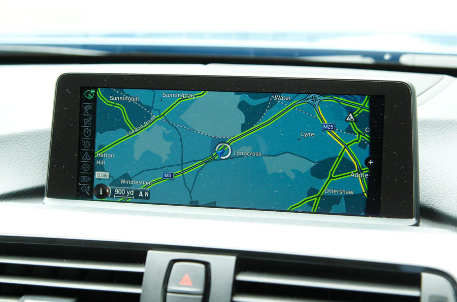 BMW 4 Series iDrive system