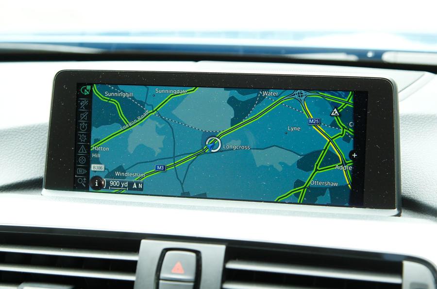 BMW 4 Series iDrive system