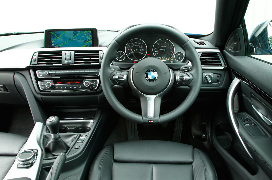 BMW 4 Series interior
