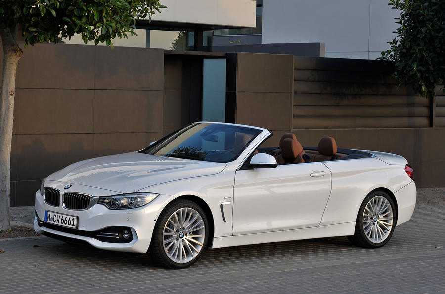 bmw 4 series convertible 420d se first drive. Black Bedroom Furniture Sets. Home Design Ideas