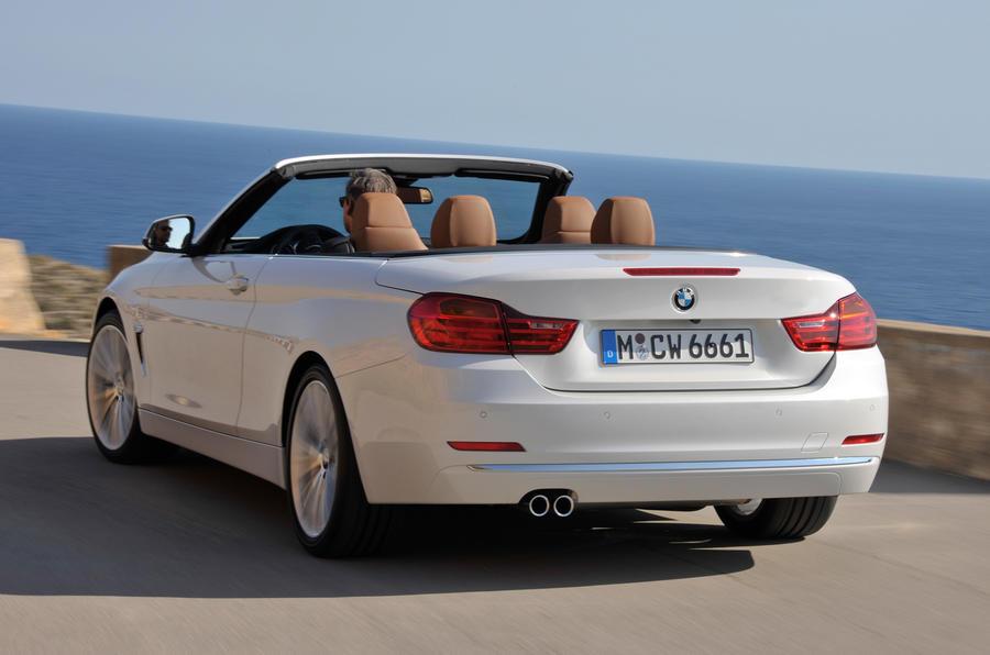 BMW 420d convertible rear