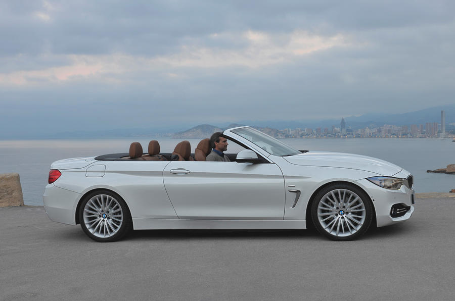 Bmw 4 Series Convertible 420d Se First Drive