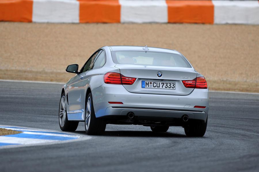 BMW 435i rear