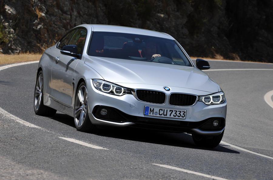 BMW 435i cornering