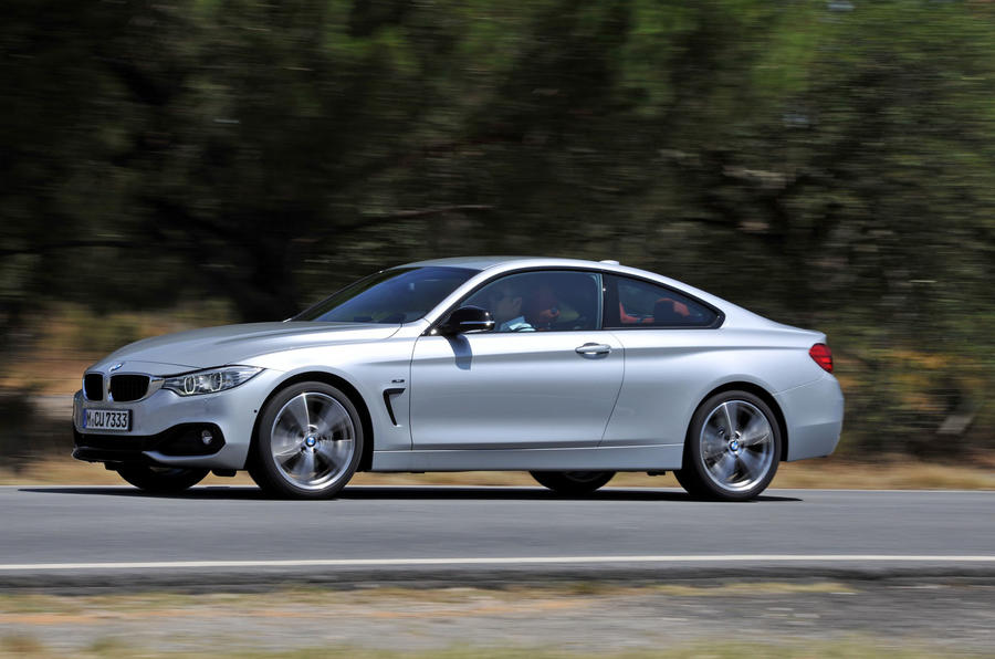 BMW 435i side profile