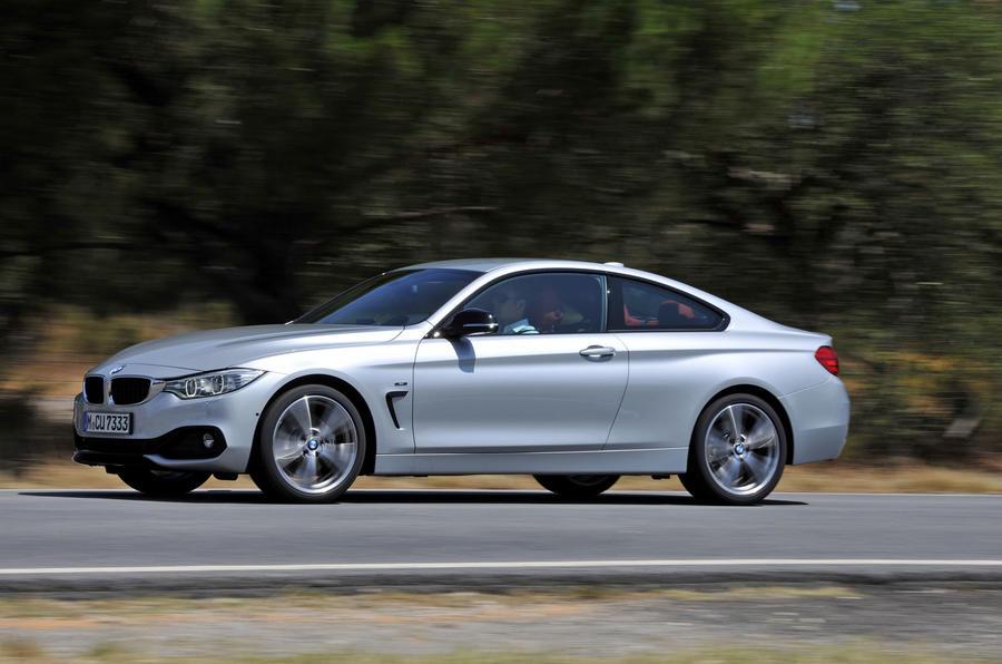 BMW 435i side profile