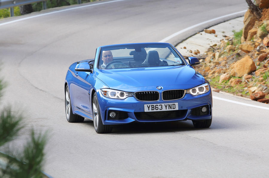 3 star BMW 435i convertible